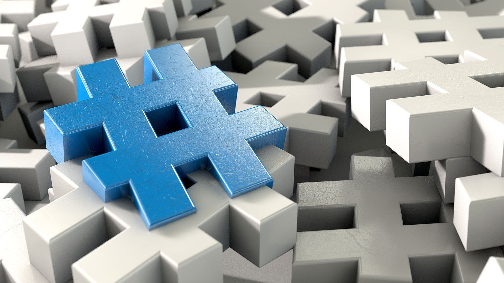 Hashtag hours on Twitter