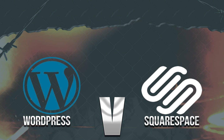 wordpress or squarespace