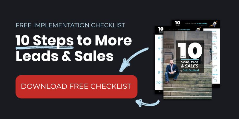10 Step Marketing Checklist to More Leads and Sales