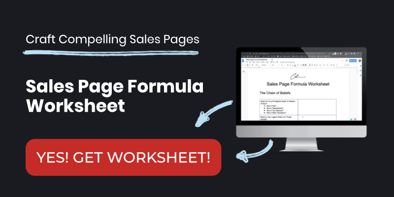 Sales Page Template Examples