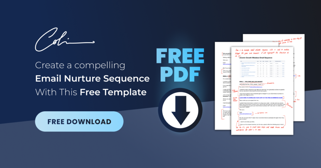 Email Nurture Sequence Template