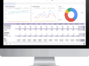 Leads and Clients Conversion Dashboard
