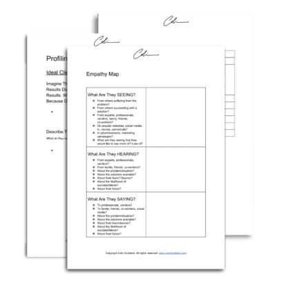 ideal customer profile worksheets