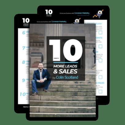 Conversion Marketing PDF Checklist