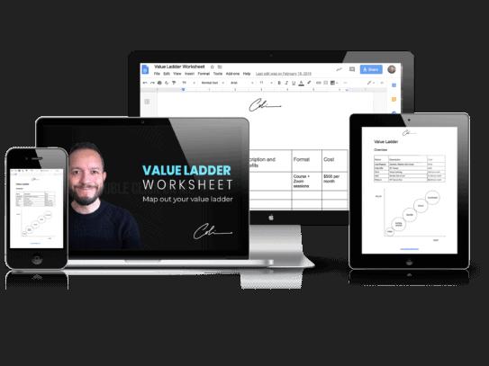 Value Ladder Worksheet